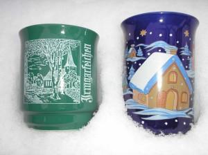 Weihnachtsmarkt-Tassen