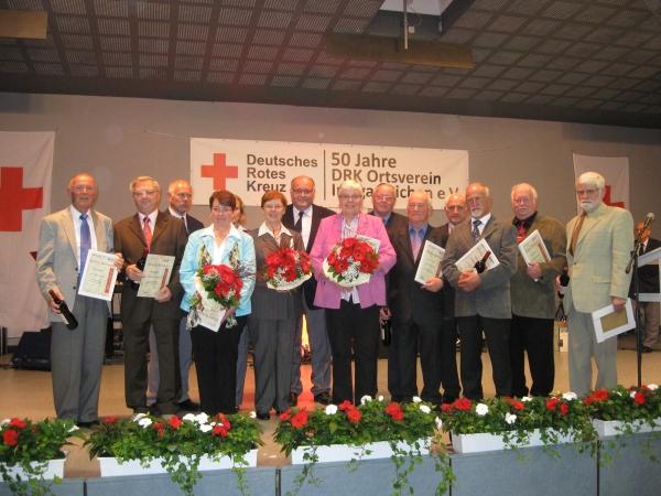 DRK- Ortsverein Irmgarteichen feierte 50jähriges Bestehen