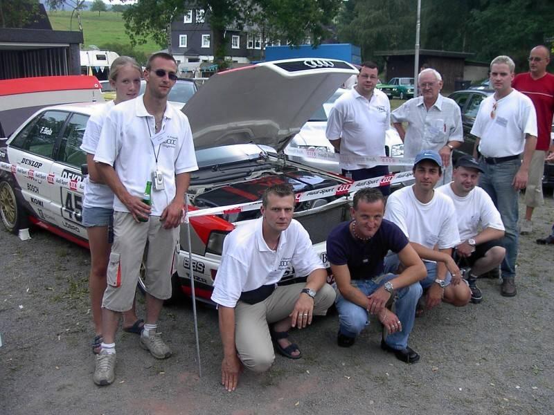 2. Internationale Audi-Treffen im Siegerland (Irmgarteichen)