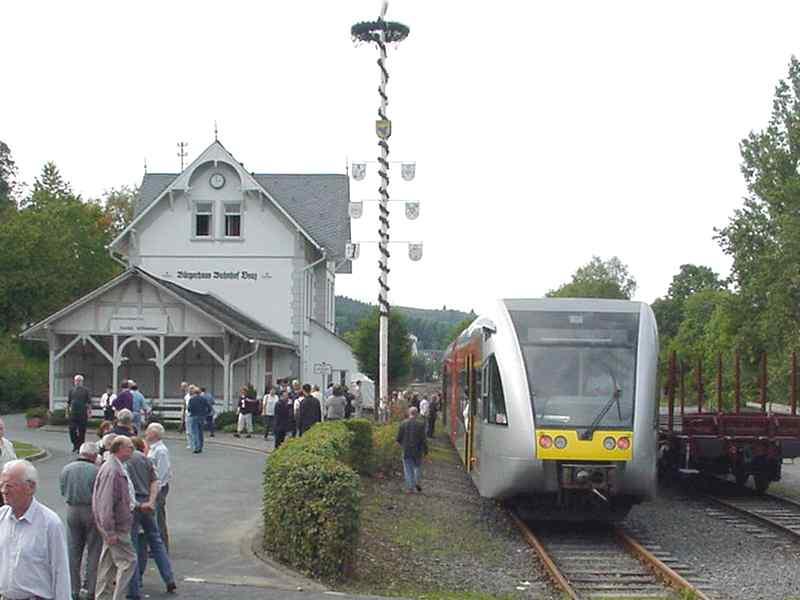 Auflösung des Vereins 'Pro Johannlandbahn'