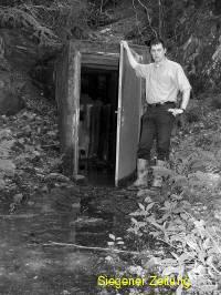 Thomas Kettner aus Irmgarteichen erstellte eine Dokumentation über das Bergwerk Johanni bei Hainchen