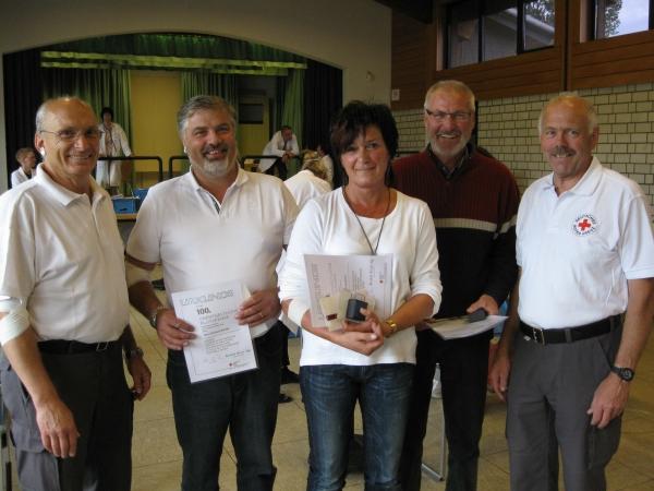 120 Spender im Gernsdorfer Dorfgemeinschaftshaus