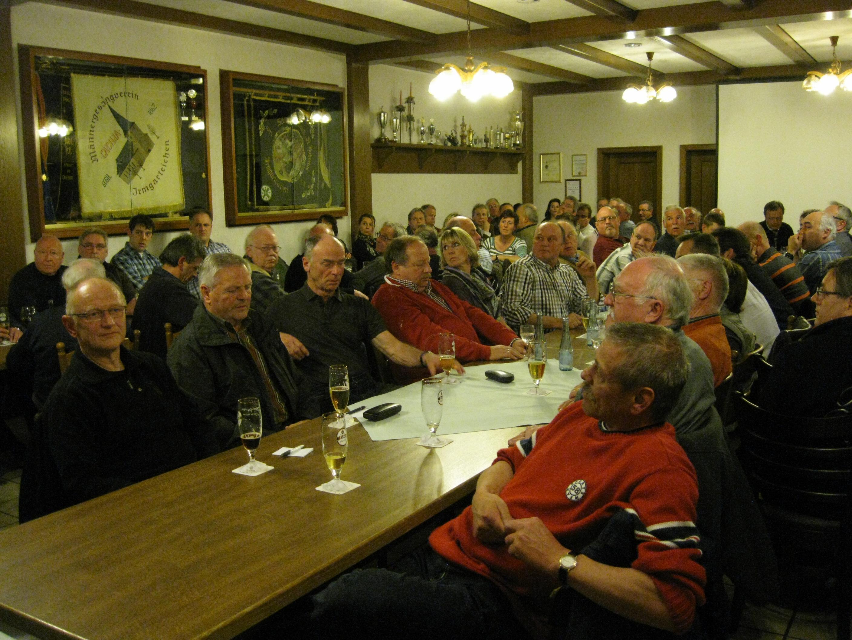 Bürgerversammlung im Gasthof Ley gut besucht