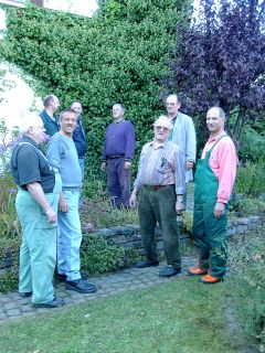 Arbeitsgruppe – Grüngestaltung im Ort – ist Freitags unterwegs.