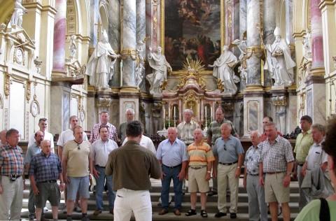 Cäciliensänger besuchten Frankenland