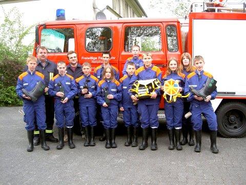 1 Jahr Feuerwehr-Förderverein Irmgarteichen: In die Sicherheit investiert