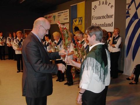 Frauenchor Johannland feierte mit buntem Programm