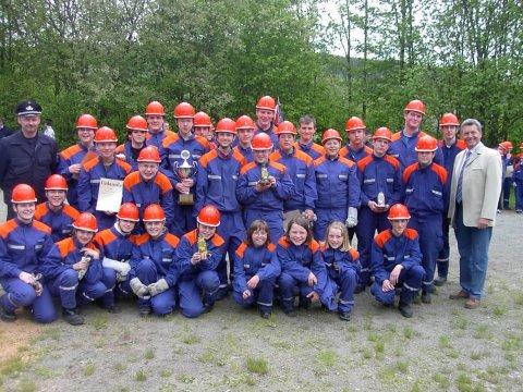 Jugendfeuerwehr –  Stadtmeisterschaft in Irmgarteichen