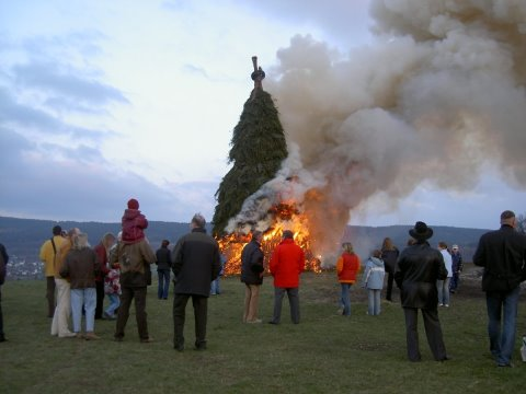 Osterfeuer 2004