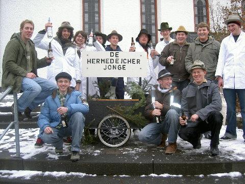 Hermedeicher Schlachzeile on weldhistorische Ereichnisse 2007