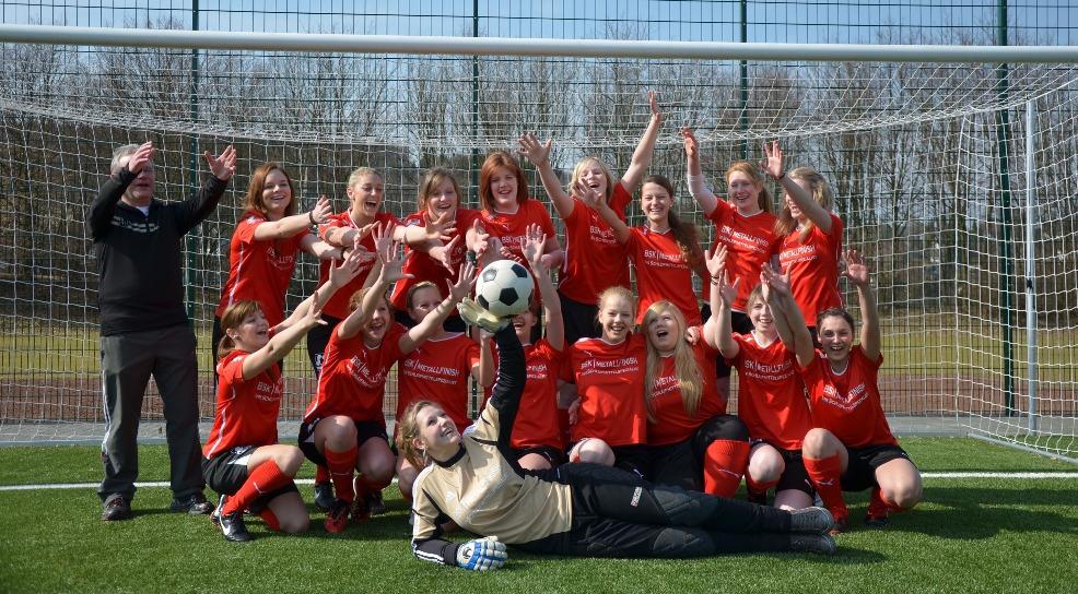 Frauenfußball beim TuS Johannland