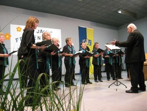 Viel Gesang und Frohsinn: Frauenchor Johannland feierte 35. Geburtstag mit Freunden