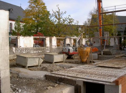 Bauarbeiten am Irmgarteichener Gasthof Ley laufen langsamer als erhofft