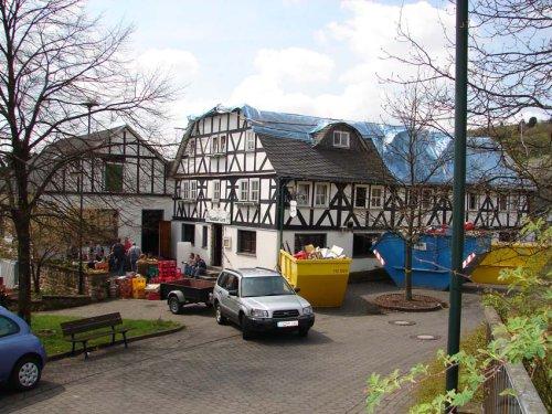 Gasthof Ley wird wieder aufgebaut