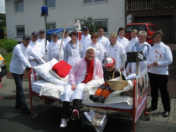 Gernsdorf feierte die Feuerwehr mit großem Festzug.