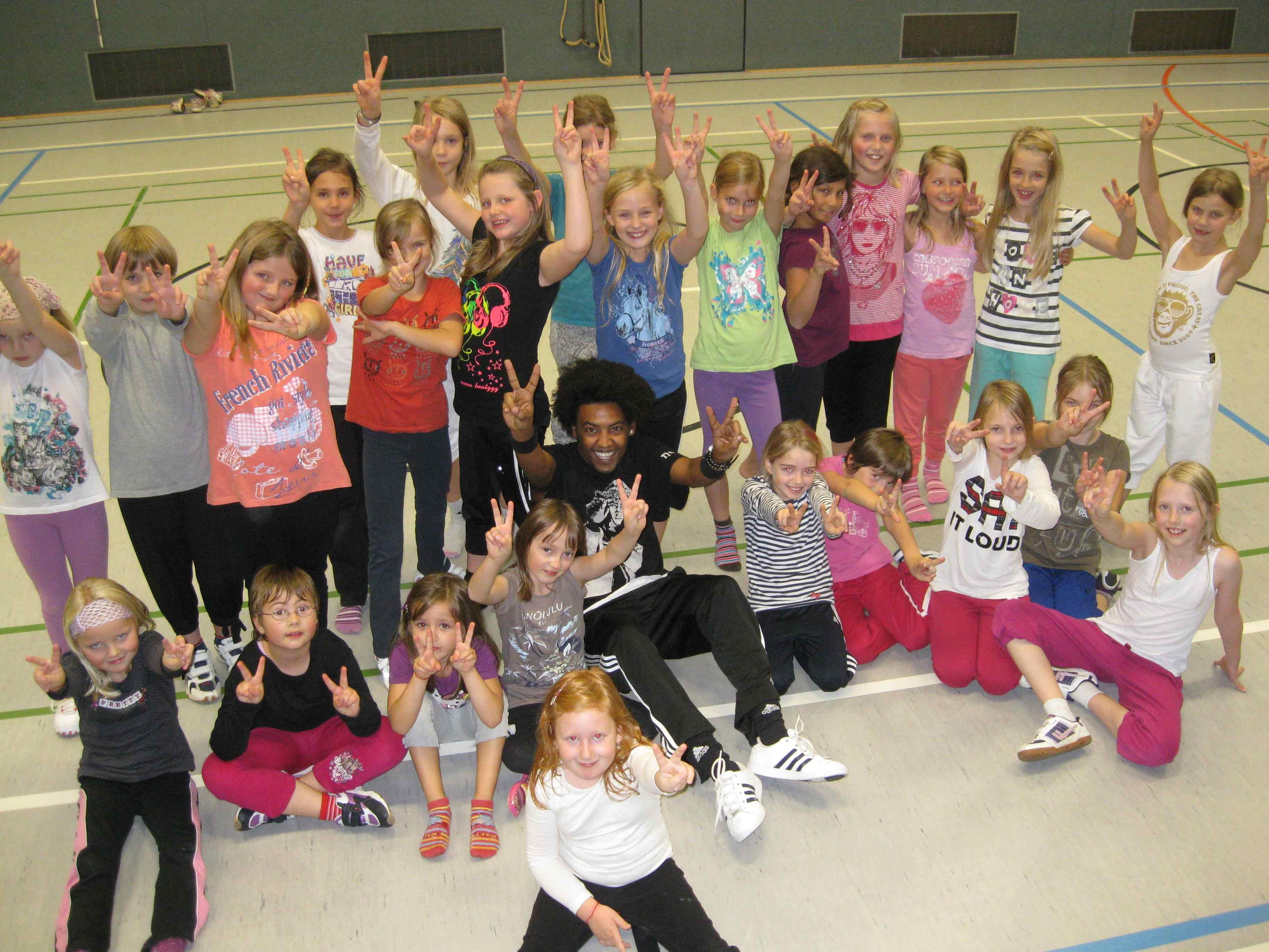 Hip Hop Kurse beim TuS Johannland: Power und Ausstrahlung bei Choreograph Alexes Feelmo