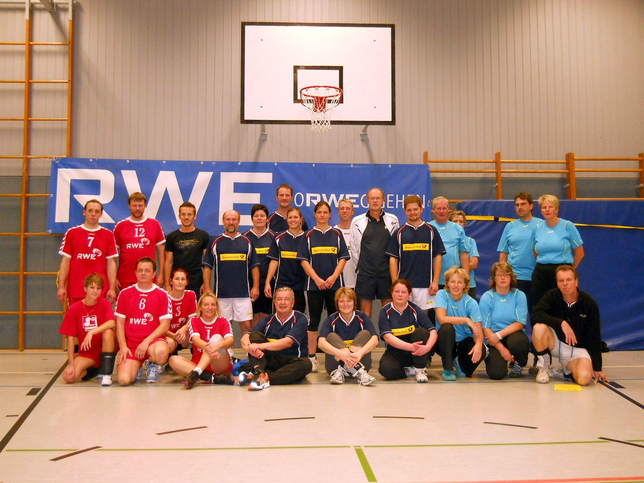 Gastgeber TuS Johannland im 5. Johannländer Mixed Volleyball-Turnier siegreich