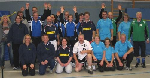 Gastgeber TuS Johannland im 4. Johannländer Mixed Volleyball-Turnier siegreich