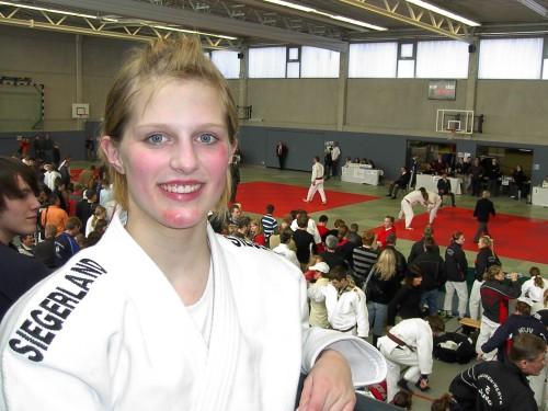 Irmgarteichenerin bei Westdeutschen Judo Einzeleisterschaften