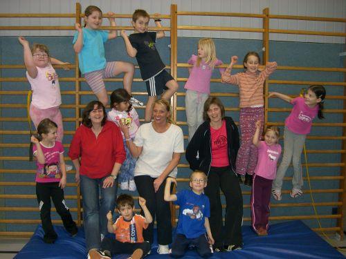 Neue Übungsleiterin beim Kinderturnen