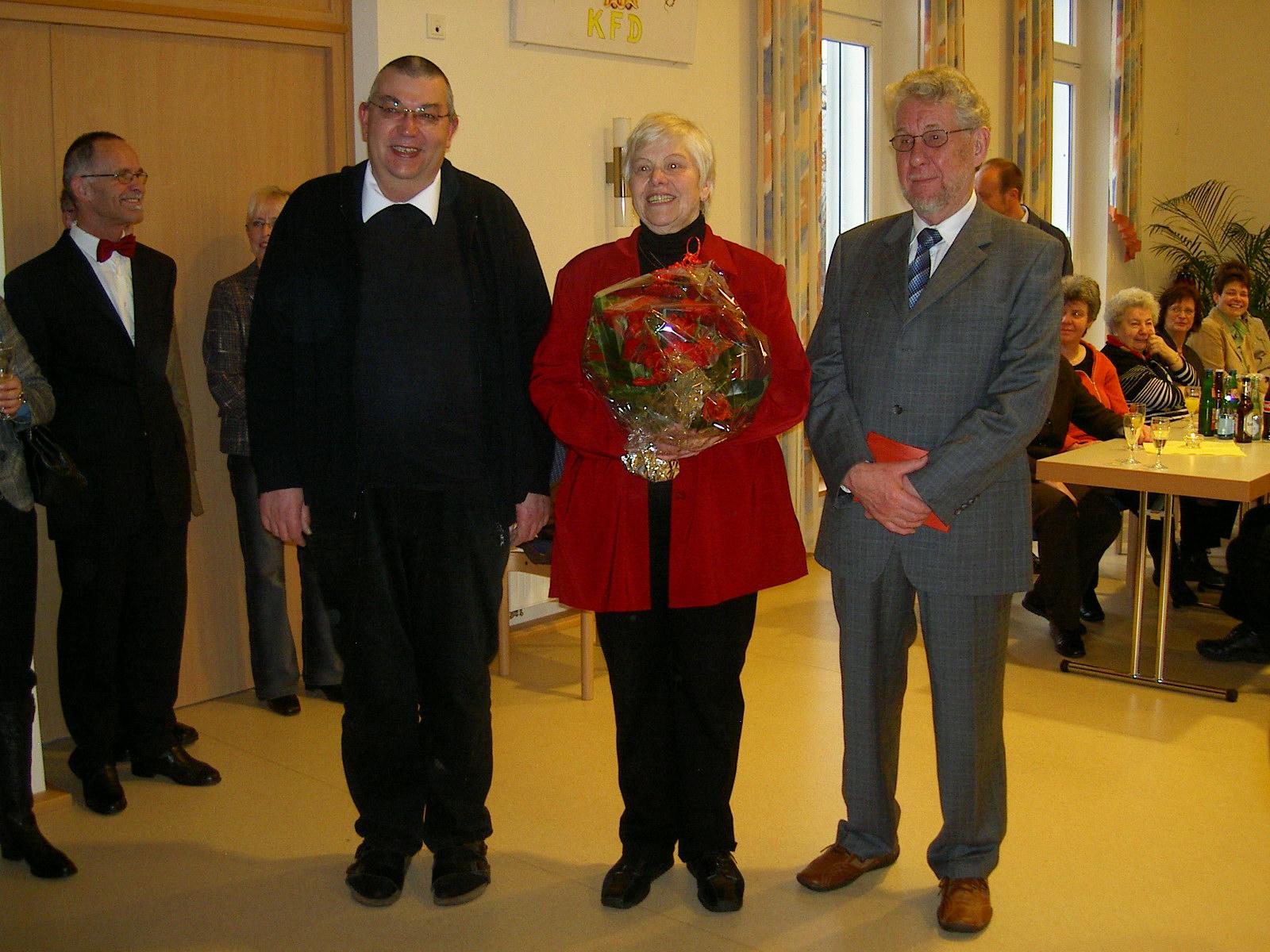 Verabschiedung des Ehepaares Renate und Hugo Groos nach 27 Jahren Dienst als Küsterehepaar