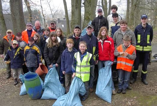 12. Aktion saubere Landschaft in Irmgarteichen