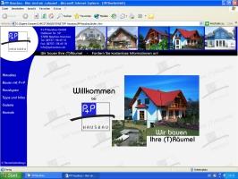 P+P Hausbau mit neuer Website