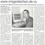 Westfalenpost: An der richtigen Adresse unter www.irmgarteichen.net