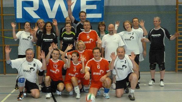 TuS Johannland im 6. Johannländer Mixed-Volleyballturnier siegreich