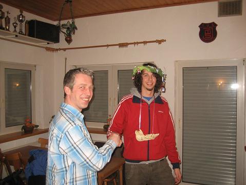 Volleyball Kohl- und Pinkeltour des TuS Johannland