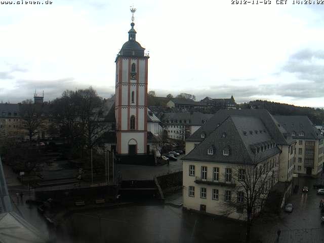 Momentan in Siegen: Wahrzeichen der Stadt Siegen im World Wide Web