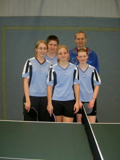 TuS Johannland-Mädchenmannschaft feiert Meisterschaft