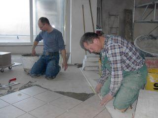 Arbeiten am neuen Pfarrheim gehen zügig voran