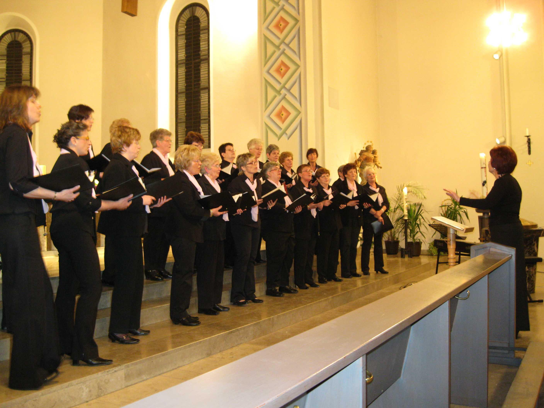 Frühlingskonzert des Frauenchores Johannland in der Pfarrkirche