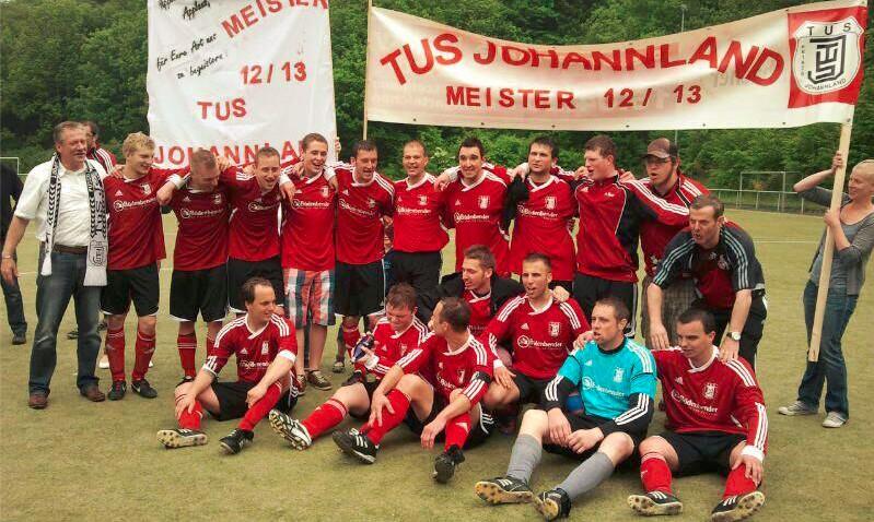 TuS Johannland Fußball-Meister