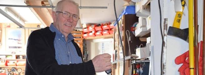 Ulrich Hassler macht sich mit 66 Jahren selbstständig