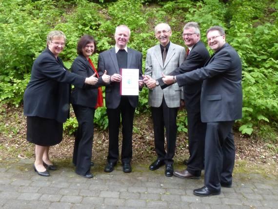 Vereinbarung des Pastoralverbunds Netpherland unterschrieben