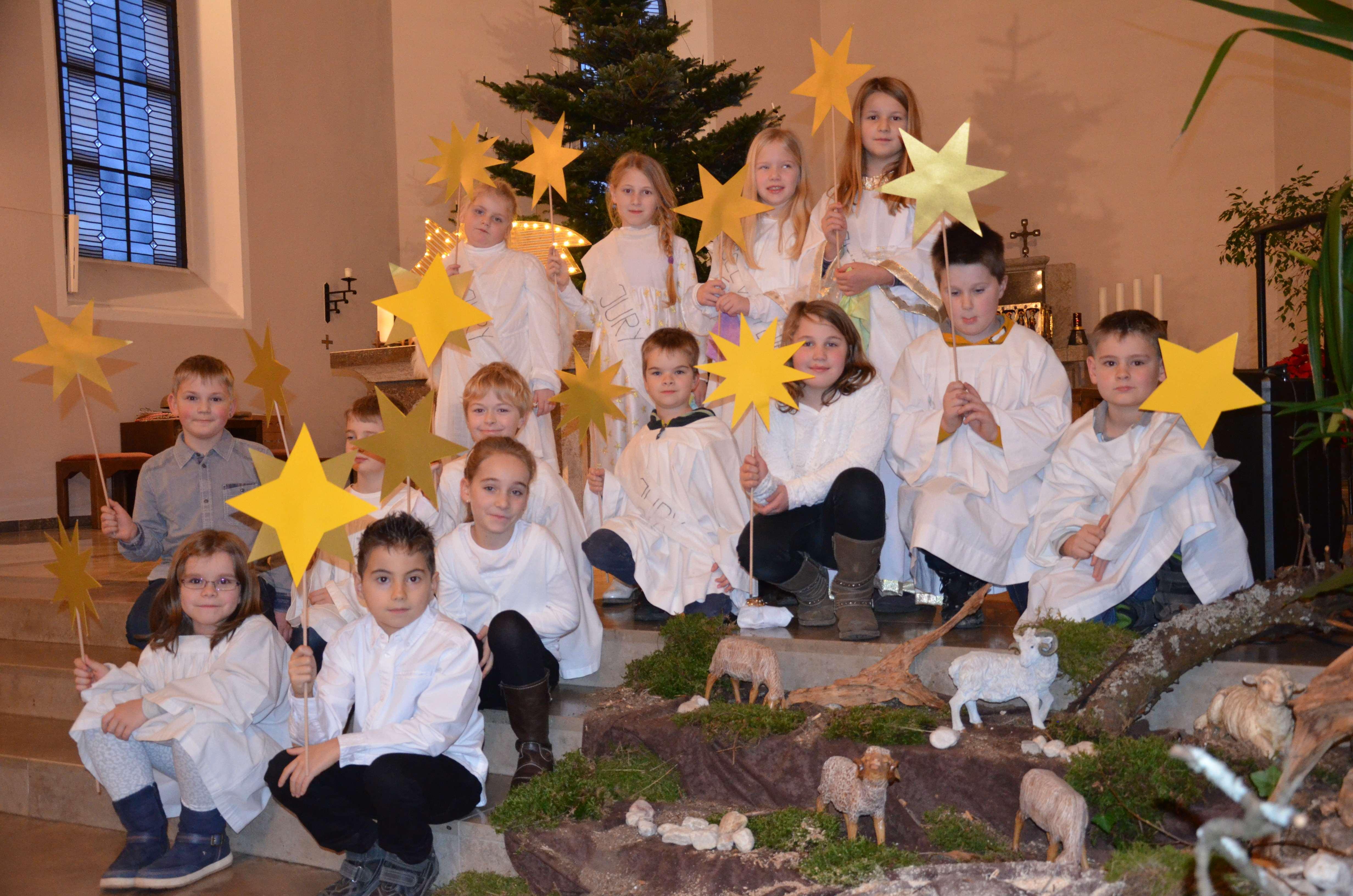Krippenfeier für die Kinder