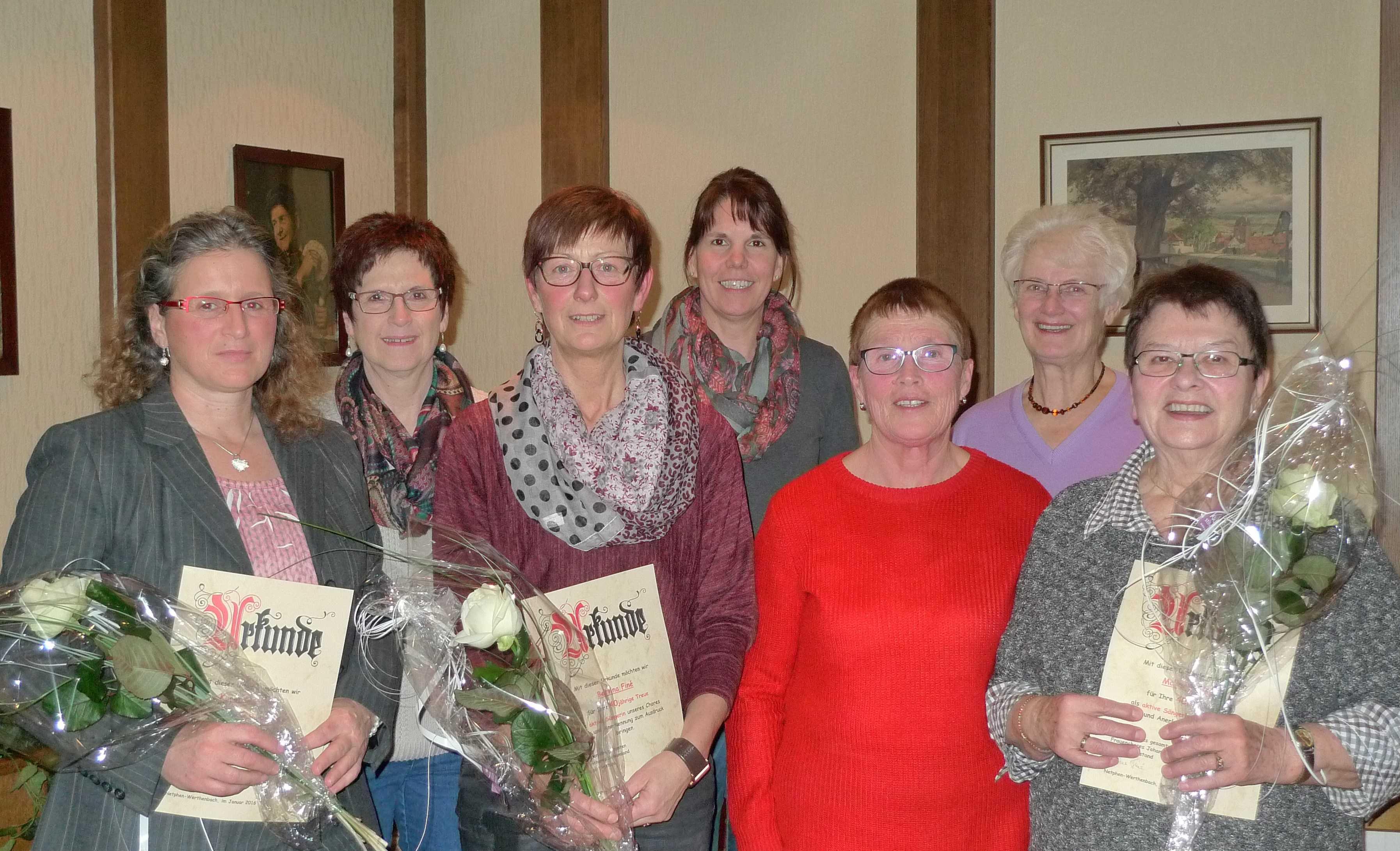 Jahreshauptversammlung des Frauenchores Johannland