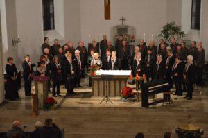 Gesang aus vollem Herzen – Adventskonzert in voll besetzter Kirche St. Cäcilia