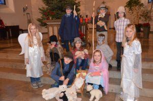 """Krippenfeier für alle Kinder  """"Die vier Lichter des Hirten Simon"""""""