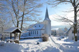 25 Zentimeter Schnee in Irmgarteichen