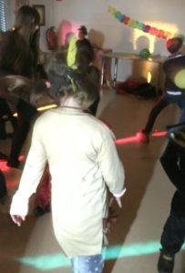 Kinderkarneval in der Jugendfreizeitstätte Irmgarteichen