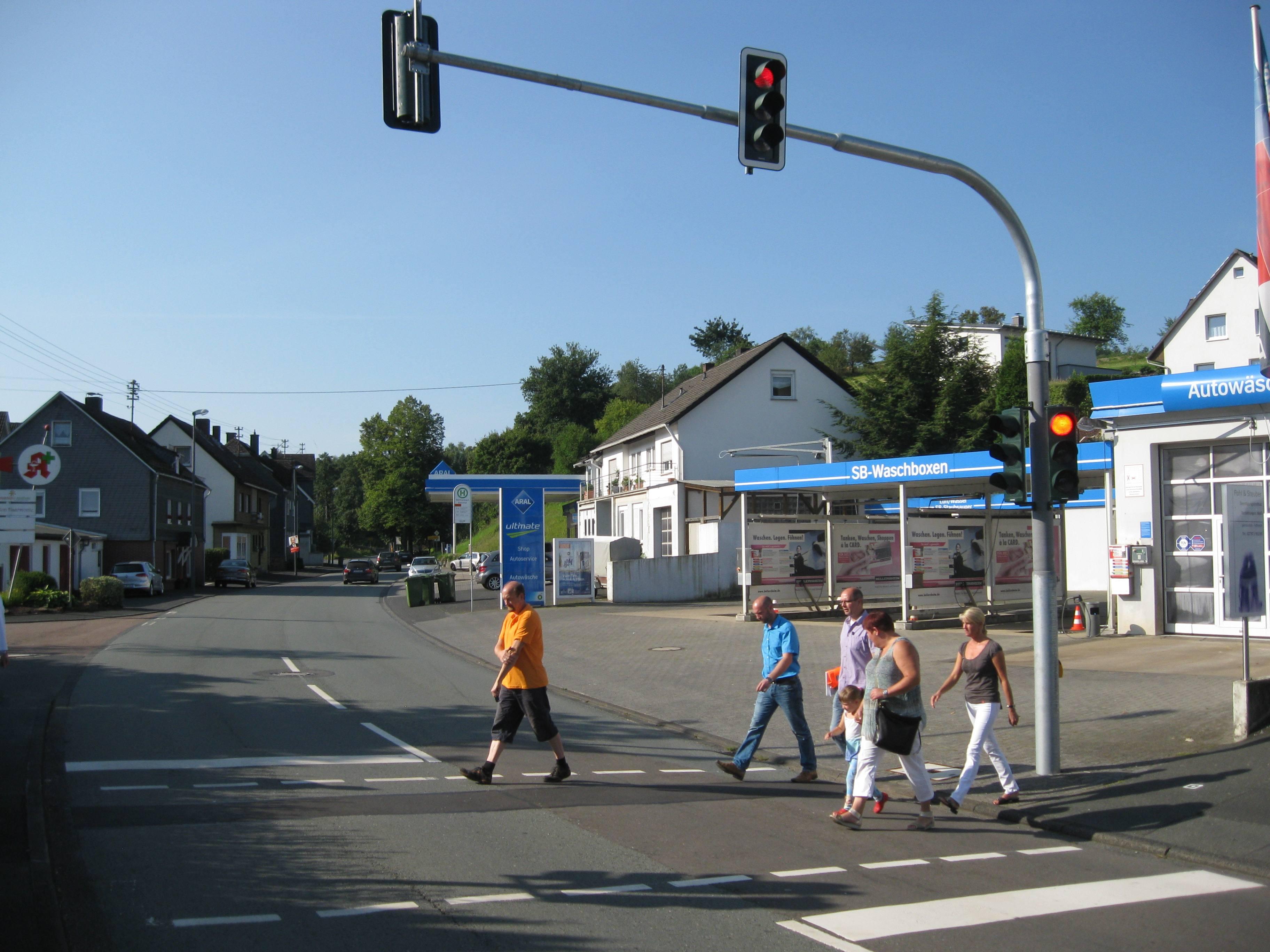 Signalanlage pünktlich zum Schulbeginn