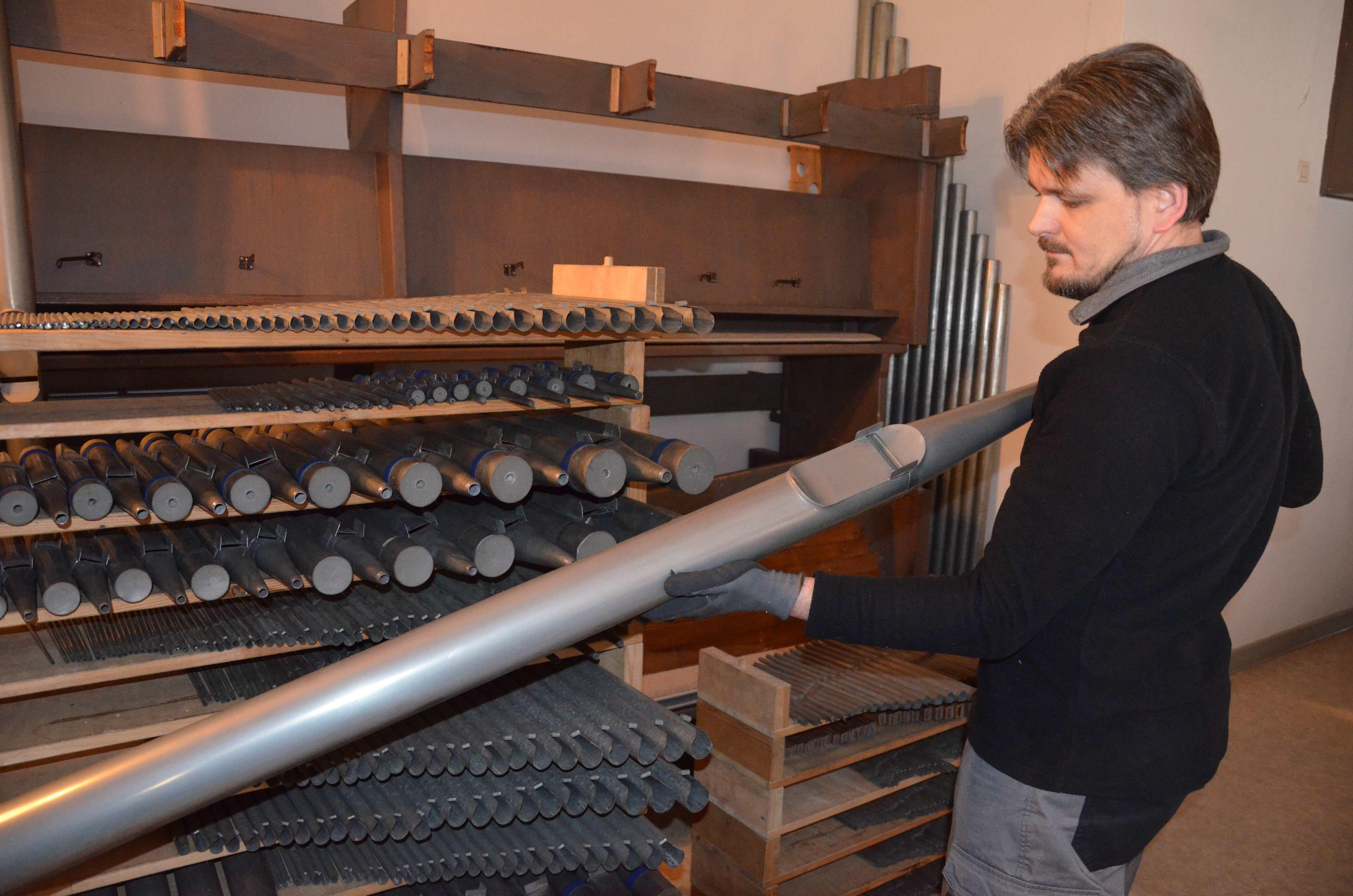 Königin der Instrumente: Reinigung der 1218 Pfeifen und komplette Instandsetzung