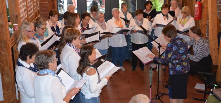 Nimm dir Zeit, werde still, wenn ein Lied erklingt: Frauenchor Johannland lud zum Kaffeekonzert in die Burgremise
