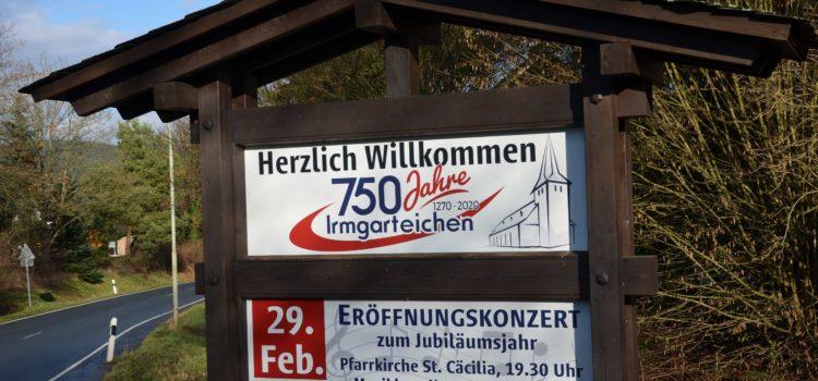 750 Jahre Irmgarteichen: Bunter Veranstaltungsreigen geplant – Feststimmung im alten Kirchdorf mit lebendiger Vergangenheit