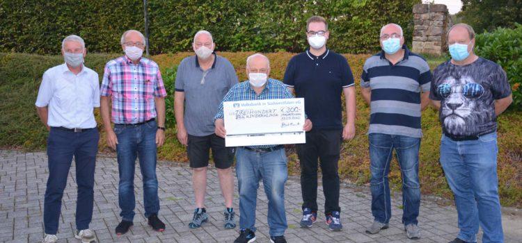 Spende von 300,- € an die DRK- Kinderklinik Siegen – Wahlhelferteam unterstützt soziale Einrichtung